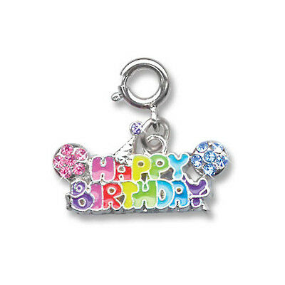 BNWT Charm It! HAPPY BIRTHDAY clip-on charm for girls