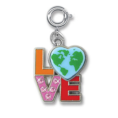 BNWT Charm It! LOVE EARTH clip-on charm for girls