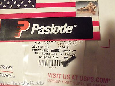 """NEW"" Paslode  Part # 004618  SCREW-SINGLE"