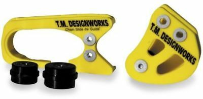 T.M. Designworks YELLOW Factory 1 Chain Guide for Suzuki 05-14 RM-Z450 RMZ450