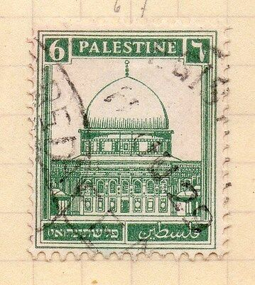 Palestine Early 1927 Issue 6m. Fine Used