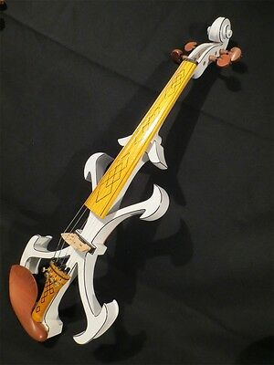 New model crazy - 2 SONG art streamline 4/4 electric violin,solid wood #10314
