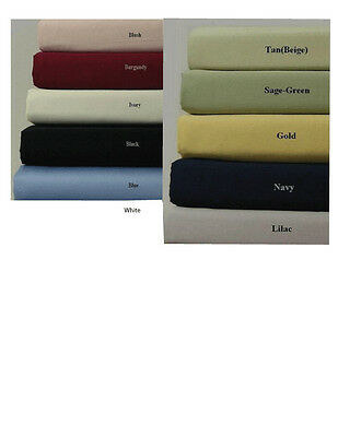100% Cotton Waterbed Sheets Made in the USA
