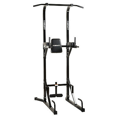 MIRAFIT VKR Ultimate Power Tower Tricep Dip Station Push Sit Pull Up Gym Bar HD