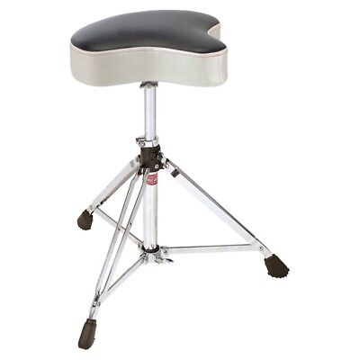 NEW - Gibraltar Double Braced Moto Style Drum Throne, SILVER SPARKLE #6608MSW