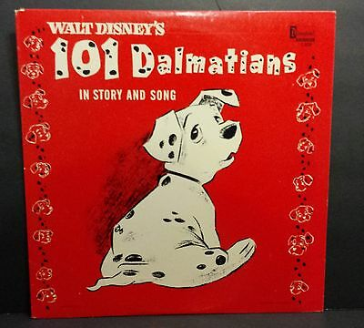 Walt Disney - Disneyland Record LP in Story & Song 101 Dalmations 1308