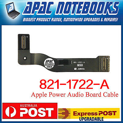 "Power Audio Board Cable 821-1722-A for Air 13"" A1466 2013 2014"