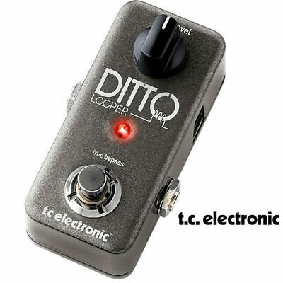 TC Electronic Ditto Looper guitar loop pedal with 5 minute loop
