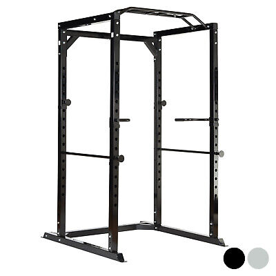 MIRAFIT 350kg Heavy Duty Olympic Full Power Cage/Rack Squat/Bench Press Home Gym
