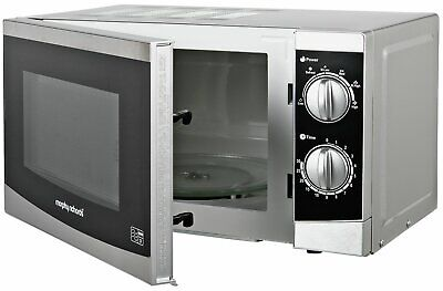 Morphy Richards MM820CXN 20L 800W Solo Microwave - Silver - From Argos on ebay