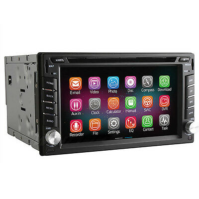 Android 4.4 Quad Core FM AM USB/SD Car Stereo IN DASH DVD Player GPS FOR NISSAN
