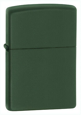 Zippo Green Matte Windproof Lighter,  Item 221, New In Box