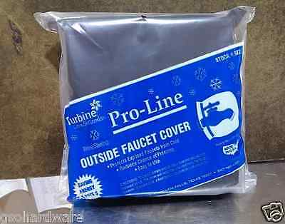 Flexible Insulated Soft Outdoor Faucet Cover Sock for Freeze Protection #922