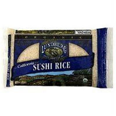 Lundberg Farms B01575 Lundberg F514 White Short Sushi Rice -1x25lb