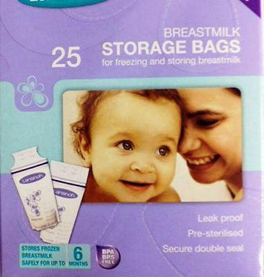 Breast Milk Storage Bags - Lansinoh (Pack of 25)