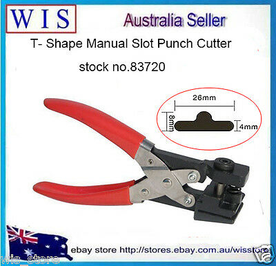 T-shape HandHeld Hole Punch Shapes,Hand Puncher Pvc Card Office Decorative-83720