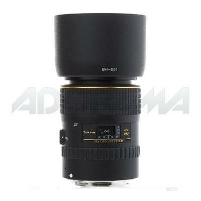 Tokina AT-X PRO D 100mm f2.8 Macro Lens for Canon Mount #ATXAF100PROC