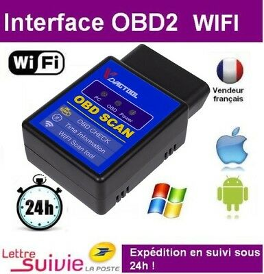 Wifi Elm 327 Iphone Android Ipad Diagnostique Voiture - Interface Scanner