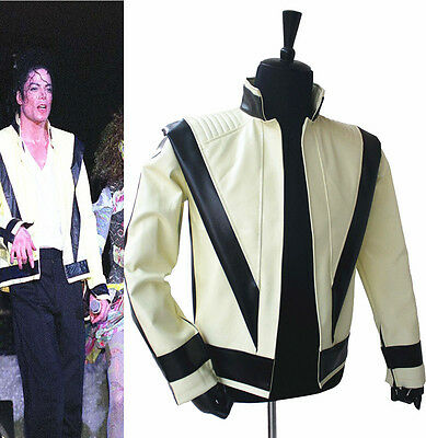 Rare MJ Michael Jackson Thriller Green Open Classic Jacket On Concert Collection