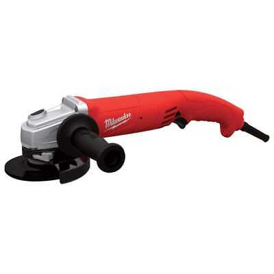 "Milwaukee 6121-31A 5"" 11A Small A-Grinder Trigger Grip, Rat-Tail AC/DC New"