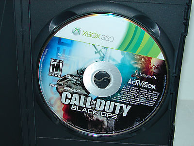 Call of Duty: Black Ops   (Xbox 360, 2011)  ***DISC ONLY***  VERY NICE!!!