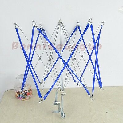 1x New Metal Umbrella Swift Yarn Winder Holder