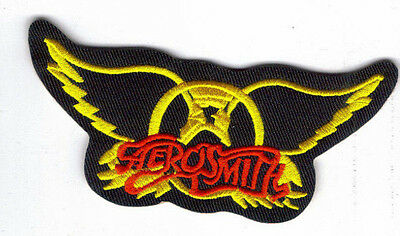 Aerosmith Wings Embroidered Patch !