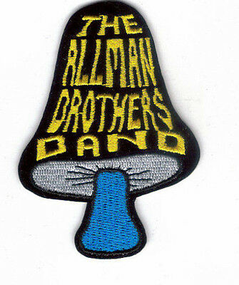 Allman Brothers Band Mushroom Embroidered Patch !