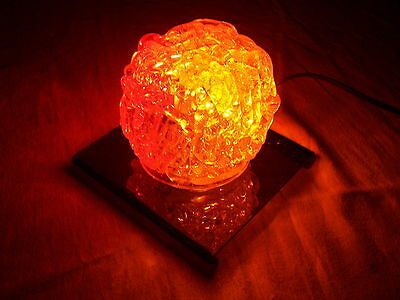 The Electric Rock - Vintage psychedelic trippy lava lamp 1960's christmas light