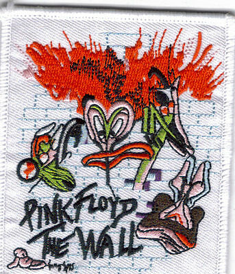 Pink Floyd The Wall Full Color Bug Embroidered Patch !
