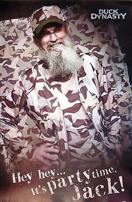 Duck Dynasty TV show- Uncle Si (Silas) -Licensed POSTER-85cm x 55cm-Brand New