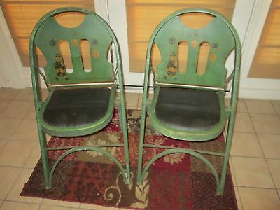 Pair of Antique Louis Rastetter & Sons SOLID KUMFORT The Folding Chair