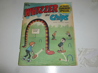 WHIZZER & CHIPS SUMMER SPECIAL Comic - Date 1981 - UK Paper comic