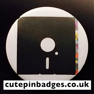"""Blue Monday Badge (25mm/1"""") Pin Button New Order 12"""" Manchester Factory Hacienda"""
