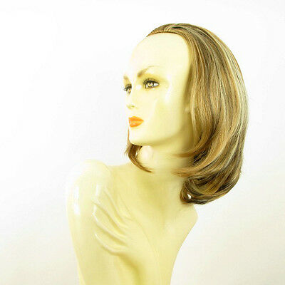 DT Half wig HairPiece clear light coppery blond and chocolate 15.7 :21/15613h4