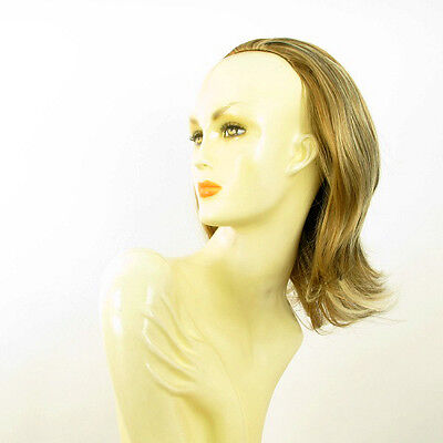 DT Half wig HairPiece clear light coppery blond and chocolate 15.7 :18/15613h4