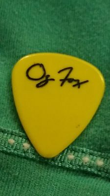 STRYPER GUITAR PICK USED BY OZ FOX IN CONCERT STRYPER'S FIRST TOUR