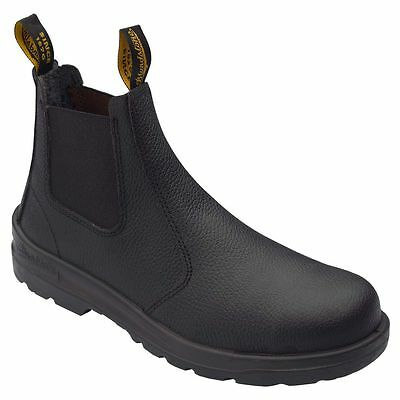 Blundstone Leather Pull Up Safety Boots 370