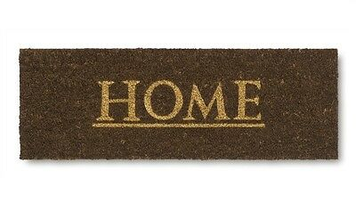 Home Coir Entrance Floor Anti Slip Front Door Mat Doormat Rectangular - BROWN