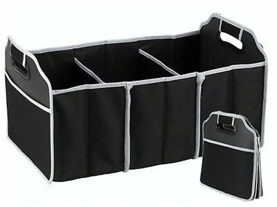 3 Section Car Trunk Organizer Boot Organiser Tidy Collapsible Foldable Storage