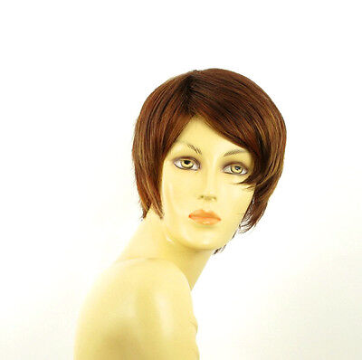 women short wig brown copper wick light blonde and red ALICIA 33h130