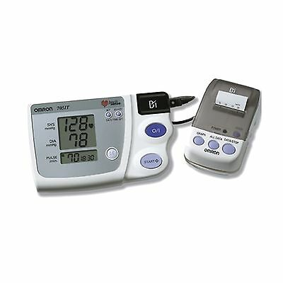 Omron HEM759P-E2 Digital Upper Arm Blood Pressure Monitor with Printer 705CP-II