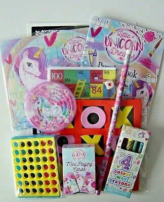 Travel Set / Party Bag, kids wedding activity, themed childrens 10 item pack NEW