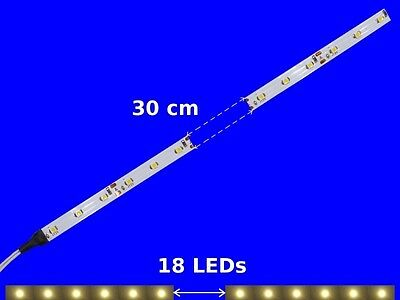 S346 5 Pieces LED Carriage lighting 300mm warm white analogue+digital with cable