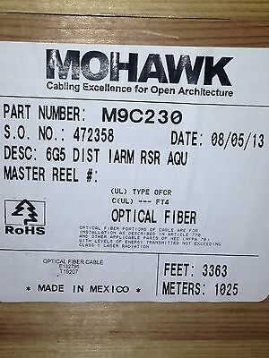Mohawk Multi-Mode Armored Fiber Optic Cable M9C230