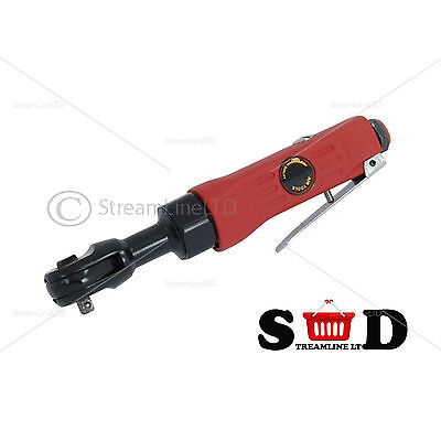 """1/4"""" Drive Air Ratchet Wrench 150rpm Ball Type Socket Professional Tool CT1082"""