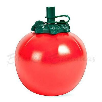 Retro Tomato Sauce Bottle Round Shape Red Ketchup Squeezy Dispenser Container 5A