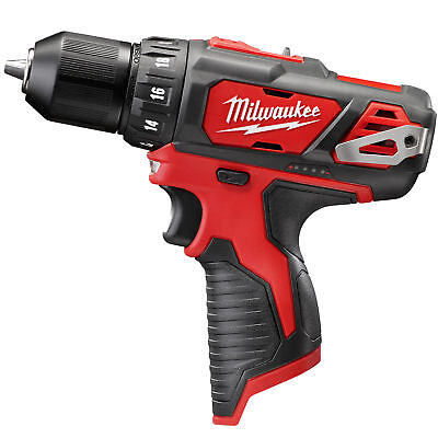 "Milwaukee 2407-20 M12 3/8'"" Drill Driver (Tool Only) New"
