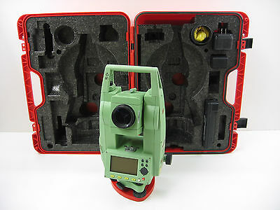 """Leica Tcr407 7"""" Reflectorless Total Station For Surveying, One Month Warranty"""