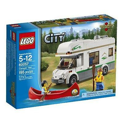 LEGO City Great Vehicles 60057 Camper Van New